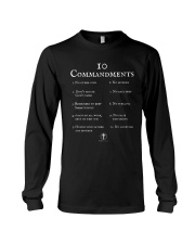10 Commandments Bible Verse Scripture TShirt Long Sleeve Tee tile
