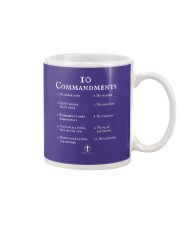 10 Commandments Bible Verse Scripture TShirt Mug tile