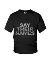 Black Lives Matter Say Their Names TShirt Youth T-Shirt thumbnail