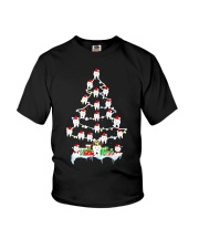 Teeth Christmas Tree Funny Dental T-Shirt For Men  Youth T-Shirt thumbnail