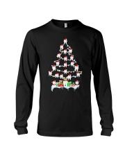 Teeth Christmas Tree Funny Dental T-Shirt For Men  Long Sleeve Tee thumbnail