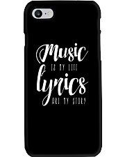 Music is my Life Lyrics are my Story Love Epic Phone Case thumbnail