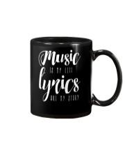 Music is my Life Lyrics are my Story Love Epic Mug thumbnail