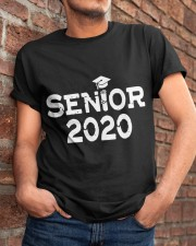 Senior 2020 Graduation Pink Tassel Class Classic T-Shirt apparel-classic-tshirt-lifestyle-26