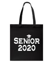 Senior 2020 Graduation Pink Tassel Class Tote Bag thumbnail