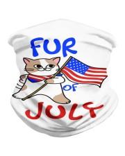 Fur Of July Happy 4th of Juky Celebration meowica Neck Gaiter thumbnail