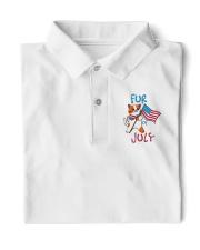 Fur Of July Happy 4th of Juky Celebration meowica Classic Polo thumbnail