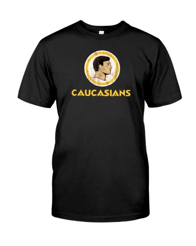 caucasians t shirt