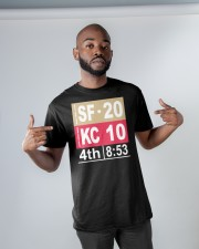 4th 8:53 TO FINAL Classic T-Shirt apparel-classic-tshirt-lifestyle-front-32