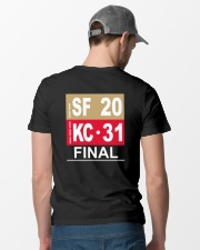 4th 8:53 TO FINAL Classic T-Shirt lifestyle-mens-crewneck-back-6