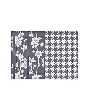Grey houndstooth floral pattern Pillow Sham - Standard thumbnail