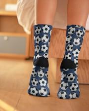 Soccer pattern Crew Length Socks aos-accessory-crew-length-socks-lifestyle-back-01