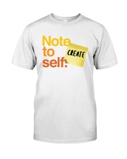 Note to Self - Create Premium Fit Mens Tee thumbnail