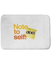 "Note to Self - Create Bath Mat - 24"" x 17"" thumbnail"