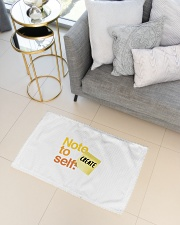 Note to Self - Create Woven Rug - 3' x 2' aos-woven-rugs-3x2-lifestyle-front-01