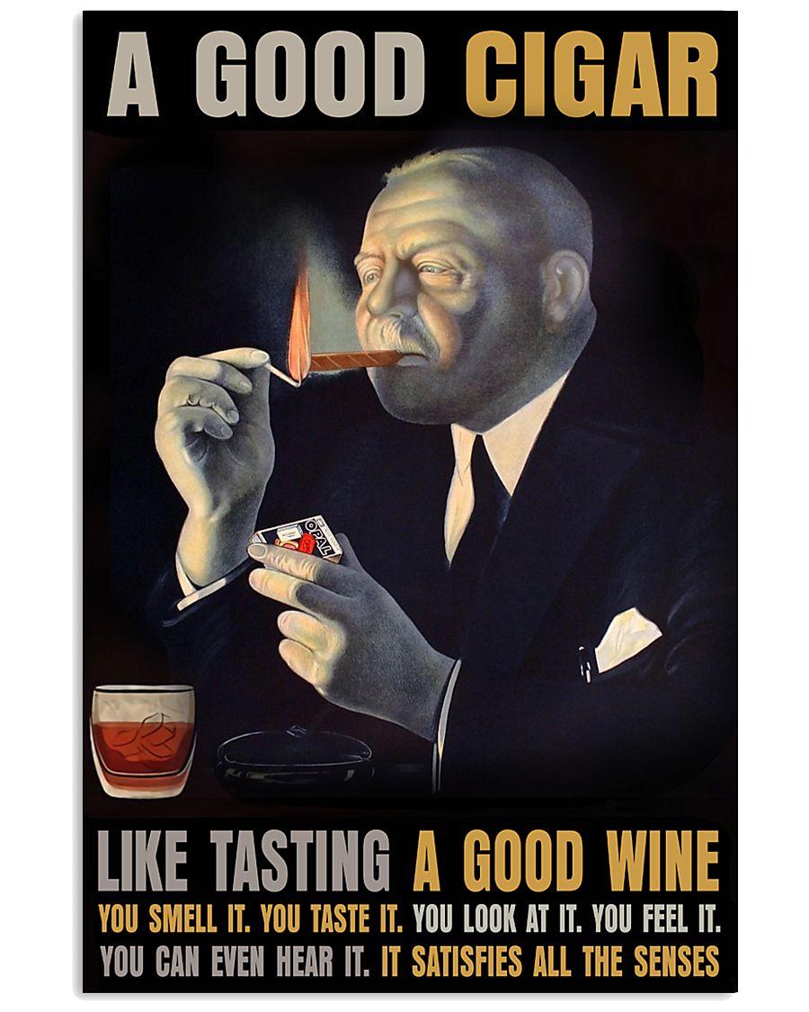 A Good Cigar  24x36 Poster