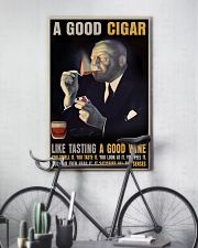 A Good Cigar  24x36 Poster lifestyle-poster-7