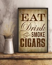 Eat Drink and Smoke Cigars Poster 24x36 Poster lifestyle-poster-3