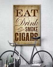 Eat Drink and Smoke Cigars Poster 24x36 Poster lifestyle-poster-7