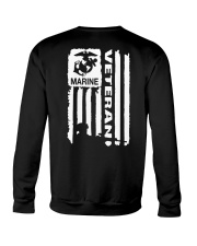 Marine veteran Crewneck Sweatshirt thumbnail