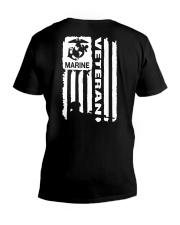 Marine veteran V-Neck T-Shirt thumbnail