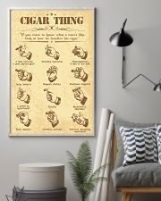 Cigar handle poster 16x24 Poster lifestyle-poster-1