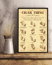 Cigar handle poster 16x24 Poster lifestyle-poster-3