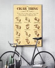 Cigar handle poster 16x24 Poster lifestyle-poster-7