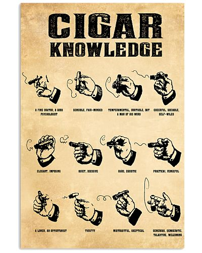 Cigar Knowledge Poster