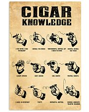 Cigar Knowledge Poster 24x36 Poster front