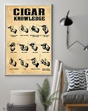 Cigar Knowledge Poster 24x36 Poster lifestyle-poster-1