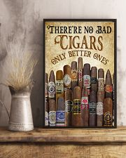 There's No Bad Cigars Poster 24x36 Poster lifestyle-poster-3