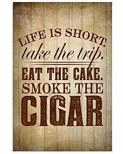 Life Is Short Cigars Poster 24x36 Poster front