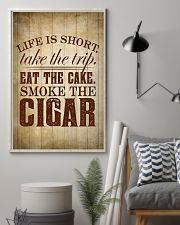 Life Is Short Cigars Poster 24x36 Poster lifestyle-poster-1
