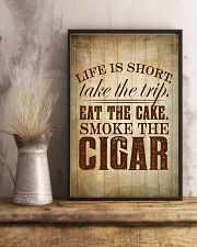 Life Is Short Cigars Poster 24x36 Poster lifestyle-poster-3