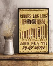 Cigars are like-even the small ones are fun POSTER 16x24 Poster lifestyle-poster-3