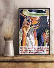 Women and cigars poster 16x24 Poster lifestyle-poster-3
