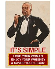 Its simple Cigars Poster 16x24 Poster front