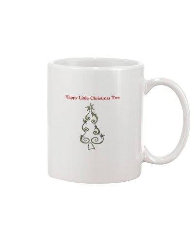 Happy  Little Christmas Tree Mug