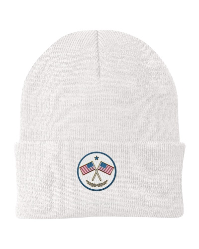 Knit Beanie Veterans Usa
