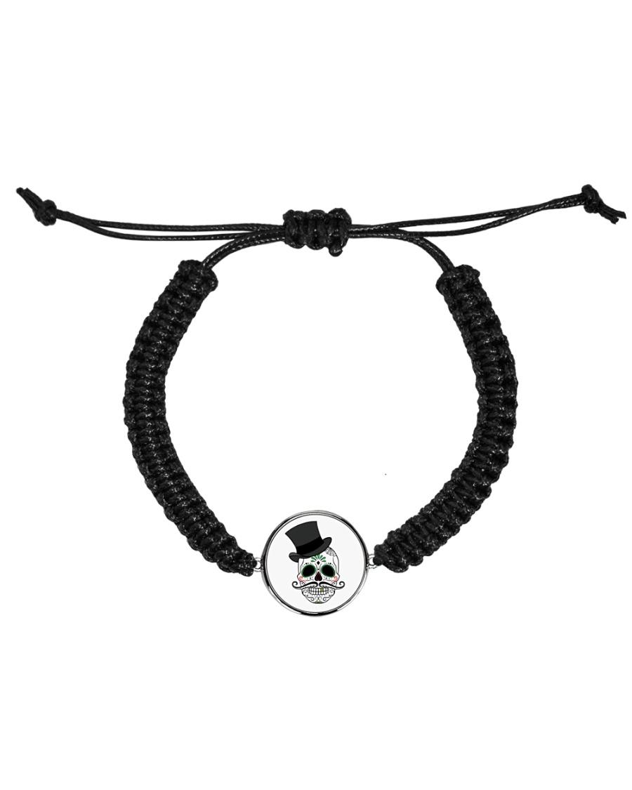 Skull Cord Circle Bracelet Cord Circle Bracelet