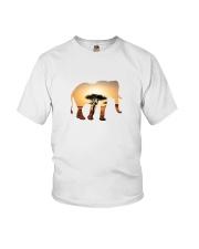 Elephant in the savannah Youth T-Shirt thumbnail
