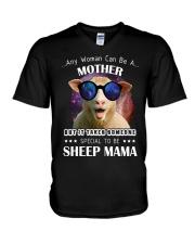 TO BE SHEEP MAMA V-Neck T-Shirt thumbnail