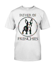 Father Of Frenchie Gift T Shirt Classic T-Shirt thumbnail