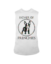 Father Of Frenchie Gift T Shirt Sleeveless Tee front