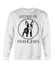 Father Of Frenchie Gift T Shirt Crewneck Sweatshirt thumbnail
