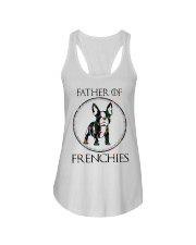 Father Of Frenchie Gift T Shirt Ladies Flowy Tank thumbnail