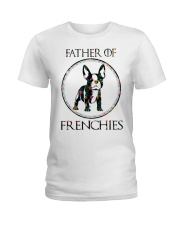 Father Of Frenchie Gift T Shirt Ladies T-Shirt thumbnail