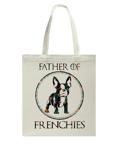 Father Of Frenchie Gift T Shirt