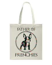 Father Of Frenchie Gift T Shirt Tote Bag thumbnail